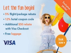 3 Weeks of Great Travel Discounts from Zuji and Visa