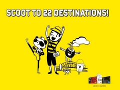 Enjoy 20% Off when you Scoot to 22 Destinations with UOB Card