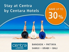 Stay at Centra by Centara Hotel and Save Up to 30% Hotel Bookings