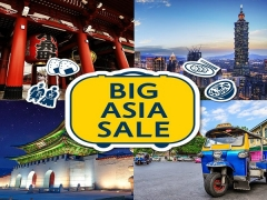 Up to 50% Savings | Big Asia Sale with Expedia Bookings