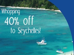 Enjoy a Whopping 40% Off to Seychelles with SriLankan Airlines