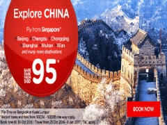 Explore China and Beyond from SGD95 with AirAsia