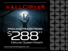 Halloween Stay and Play at Bay Hotel Singapore from SGD288