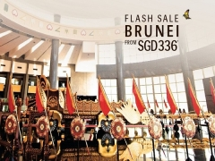 Brunei Flash Sale from SGD336 with Royal Brunei Airlines