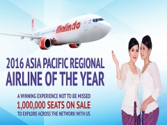 1 Million Seats on Sale in Malindo Air from SGD23