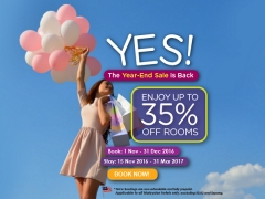 YES is Back! Enjoy Up to 35% Off Rooms in Tune Hotels