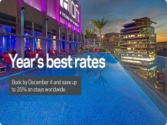 Save Up to 35% Hotel Rate on Participating Starwood Hotel Properties