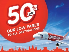 Up to 50% Off Exclusively for Citibank Cardmembers on AirAsia Flights