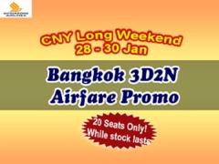 Bangkok Airfare Promo