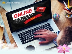 Online Friday Special   15% Discount of Flights with Vietnam Airlines