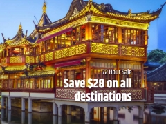 $28 Off Flights Anywhere in the World with CheapTickets.sg