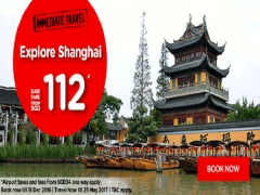 Explore Shanghai from SGD112 with AirAsia
