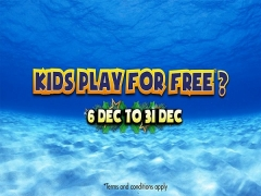 Kids Play for Free at Sunway Lagoon this December
