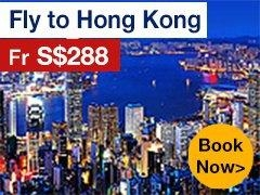 Round-trip to Hong Kong from S$296* ALL IN