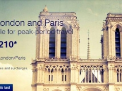 Book your peak-season trips to London and Paris from S$1,210 all-in