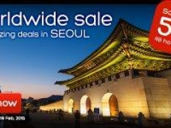 Worldwide Sale + Amazing Deals in Seoul, Save up to 50%*