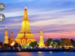 Bangkok: City Hotel & SQ Flights