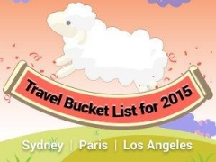 Travel Bucket List for 2015 - Sydney, Paris & Los Angeles from S$121 up!
