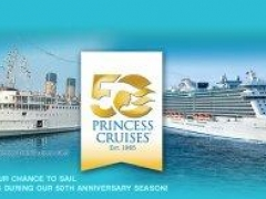 Princess Cruises 50th Anniversary Promotions