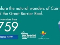 Explore the natural wonders of Cairns and the Great Barrier Reef with SilkAir's all-in return fare from $759