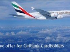 Exclusive offer for Citibank Cardholders - enjoy a 10% saving* on regular fares or 5% saving* on promotional fares