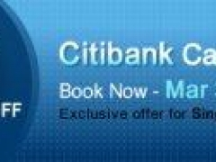 Up to 5% Discount for all Citibank Cardholders - Exclusive offer for Singapore only