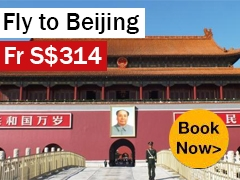 Round-trip to Beijing from S$314* ALL IN