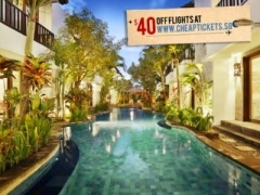 Bali: $167 for 4 Pax 3D2N Seminyak Townhouse Two-Bedroom Apartment Stay (Worth $297)