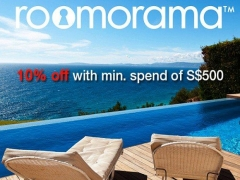 Enjoy 10% OFF  at Roomorama