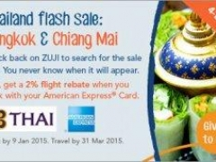 Brand New Year. Brand new flash sale to Bangkok and Chiang Mai!