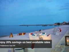Enjoy 20% savings on best available rates at Putahracsa Hua Hin with American Express Card