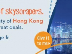 A Skyline of Skyscrapers. See the Beauty of Hong Kong with 3D2N packages from $429
