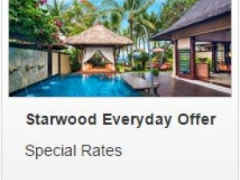 Starwood Everyday Offer - OCBC Cardholders enjoy 20% off best available room rates