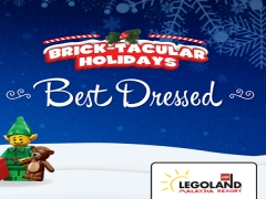 Brick-Tacular Holiday from Legoland with a Chance to WIN 1-Day Theme Park Ticket