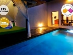 Bali: $310 for Two Pax 3D2N 4-Star Alam Puisi Villa 1-Bedroom Pool Villa Stay with Breakfast