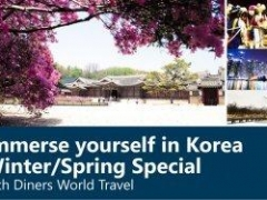 Immerse yourself in Korea winter/Spring Special with Diners World Travel
