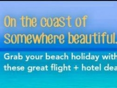 3D2N beach packages from $314 (all-in) for the long weekend!