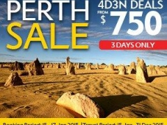 Sydney & Perth Flash Sale: 4D3N Deals from $725