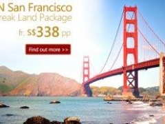 3D2N San Francisco City Break Land Package from S$338