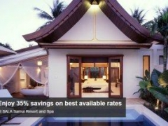 Enjoy 35% savings on best available rates at SALA Samui Resort and Spa with American Express Card