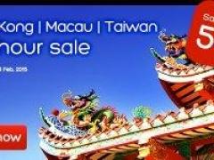 Hong Kong, Macau & Taiwan 101 Hour Sale