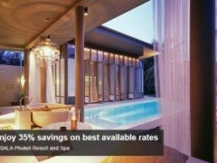 Enjoy 35% savings on best available rates at SALA Phuket Resort and Spa with American Express Card
