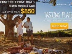 Gourmet Self Drive Trails: Flights, Hotels & Cars from $850