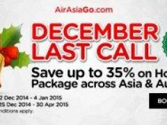 December Last Call! Save up to 35% on Holiday Package across Asia & Australia
