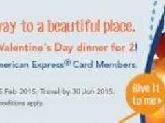 Win a Valentine's Day dinner for 2!