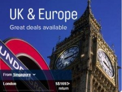 UK & Europe Great Deals: Fly to London (Heathrow) from S$1693