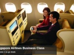 Singapore Airlines Business Class - Exclusive 2-to-go deals with American Express Card