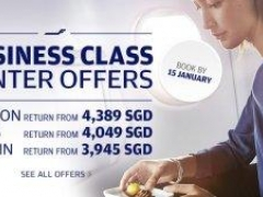 Business Class Winter Offers! Fly to Europe faster and smarter with Finnair