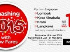 Smashing 2015 with Low Fares: Fly AirAsia to over 100 destinations