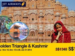 9D7N Golden Triangle and Kashmir starting from SGD1,258